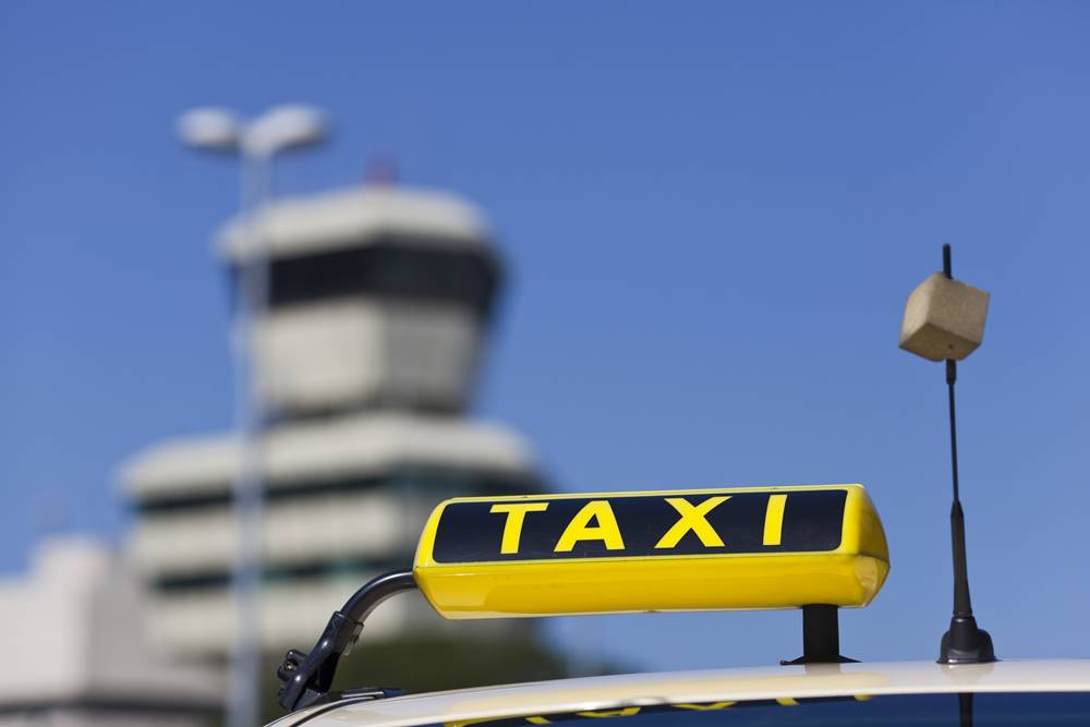 Taxi am Airport